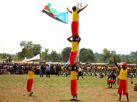 YAMBIO, 13th July, 201– The 9th July South Sudan Independence Day celebrations in Western Equatoria State's Capital Yambio(photo: via gurtong)