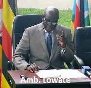 South Sudan Ambassador to Uganda, Samuel Lowate, a Political Orphan