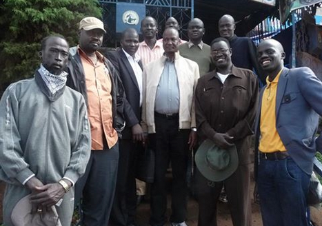 Mabior Garang de Mabior in SPLM/SPLA leadership with Chief Negotiator, Gen. Taban Deng Gai(Photo: file)