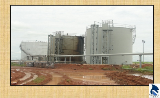 The skim tank of Nilepet in South Sudan(Photo: Nilepet)