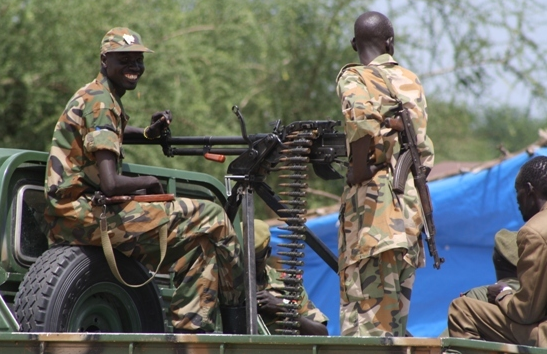 Forces of SPLA loyal to president Salva Kiir accused of having looted the Mundri county following the recent fighting in the area(Photo: file)