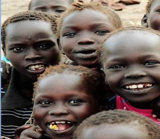 A smiling South Sudanese children in unspecified location in South Sudan(Photo: supplied)