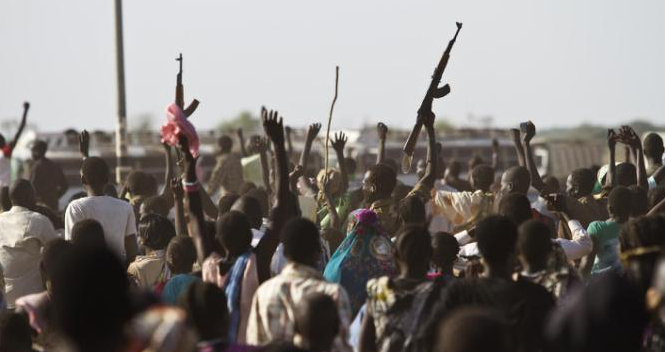 Despite the political conflict that has engulfed the country, subs-tribe of Dinka in Warrap and Lakes State have continued to fight their own conflicts among themselves(Photo:AFP Photo/Ivan )