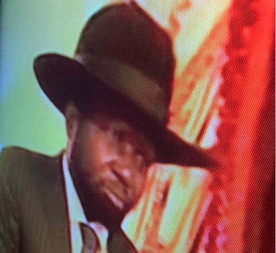 President Salva Kiir on SSTV after reports on his decorating health...