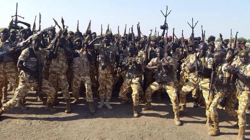 A battalion of SPLA forces has reportedly defected Salva Kiir government and declared loyalty to the opposition, SPLM/SPLA(Photo: supplied)