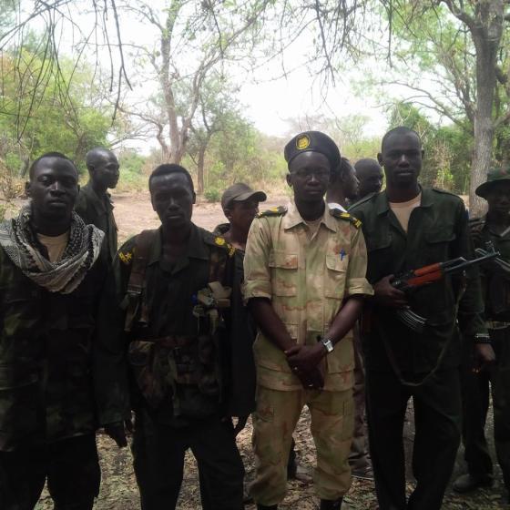 SPLA- IO in Western Bahr el ghazal military front
