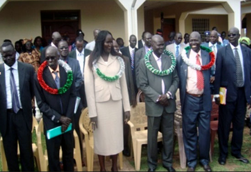 The lastest cabinet of Warrap state, South Sudan(Photo: via Gurtong)