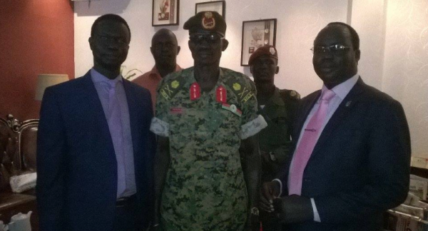 Gen. Pul Jang Top, a son of bull-Nuer who defected with Maj. Gen. Peter Gatdet Yaka in 2011 joined the government of Salva Kiir in 2013 and continued to fight brutally against his Nuer people in Unity. Puljang is accused of castrating and rapping young  girls and women from other Nuer subclass in Unity state(Photo: supplied)