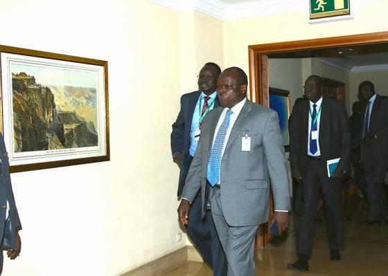 Cde. Pagan Amum Okiech the Chairman of FPD