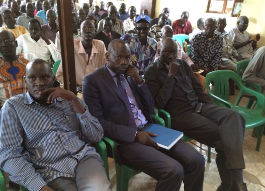 Phou State community in Khartoum, Sudan during a briefing by community leaders(Photo: file)