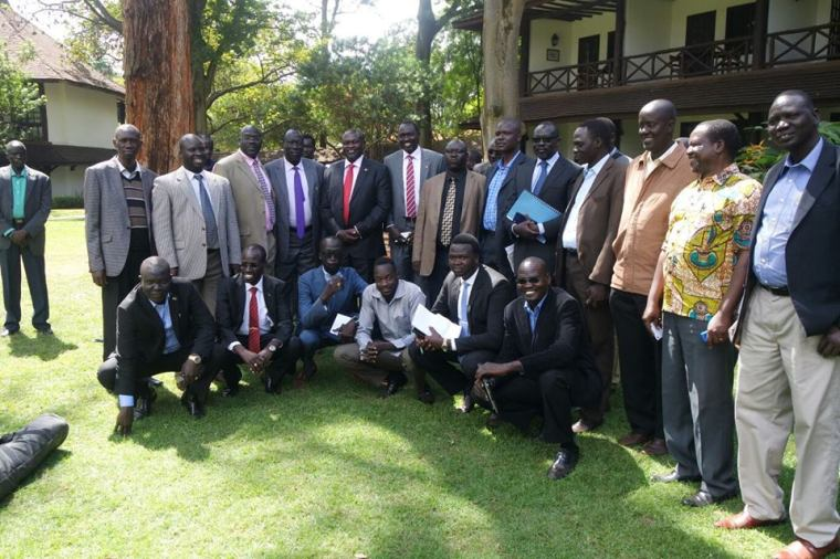 SPLM/A leaders and Representatives to the Republic of Kenya. .