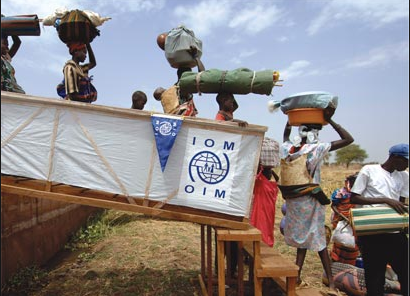 Forced by civil war, South Sudanese are yet again forced to seek refuge in the neighboring countries(Photo: IOM/UN)