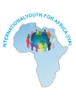 Logo for International Youth for Africa, an NGO based in Kampala, Uganda