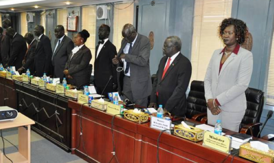 South Sudan swears in its new Transitional Government of National Unity on Friday, April 29th, 2016(Photo: supplied)