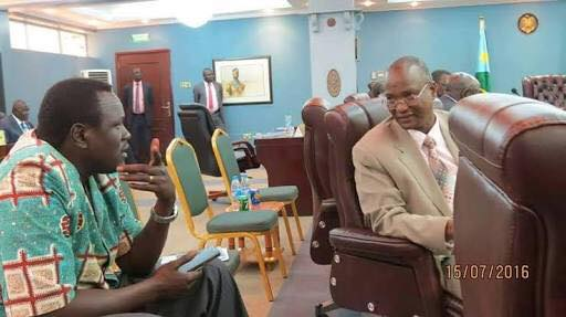 A disgruntled SPLM/A-IO member who conspired to violently disposed Dr. Riek Machar Teny(Photo: file)