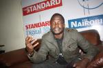 Dak Buoth speaking during an Interview with Standard Newspaper in Nairobi, 2015