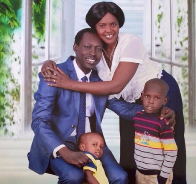 Late Lam Kuei Lam pictured with his family in Khartoum, Sudan. Lam died last Saturday in hospital in Khartoum(Photo: file)