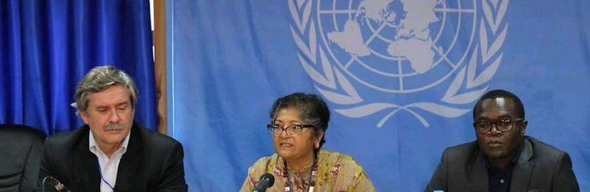 Ms. Yasmin Sooka, Chairperson of the Commission on Human Rights in South Sudan, (File/Supplied/Nyamilepedia)