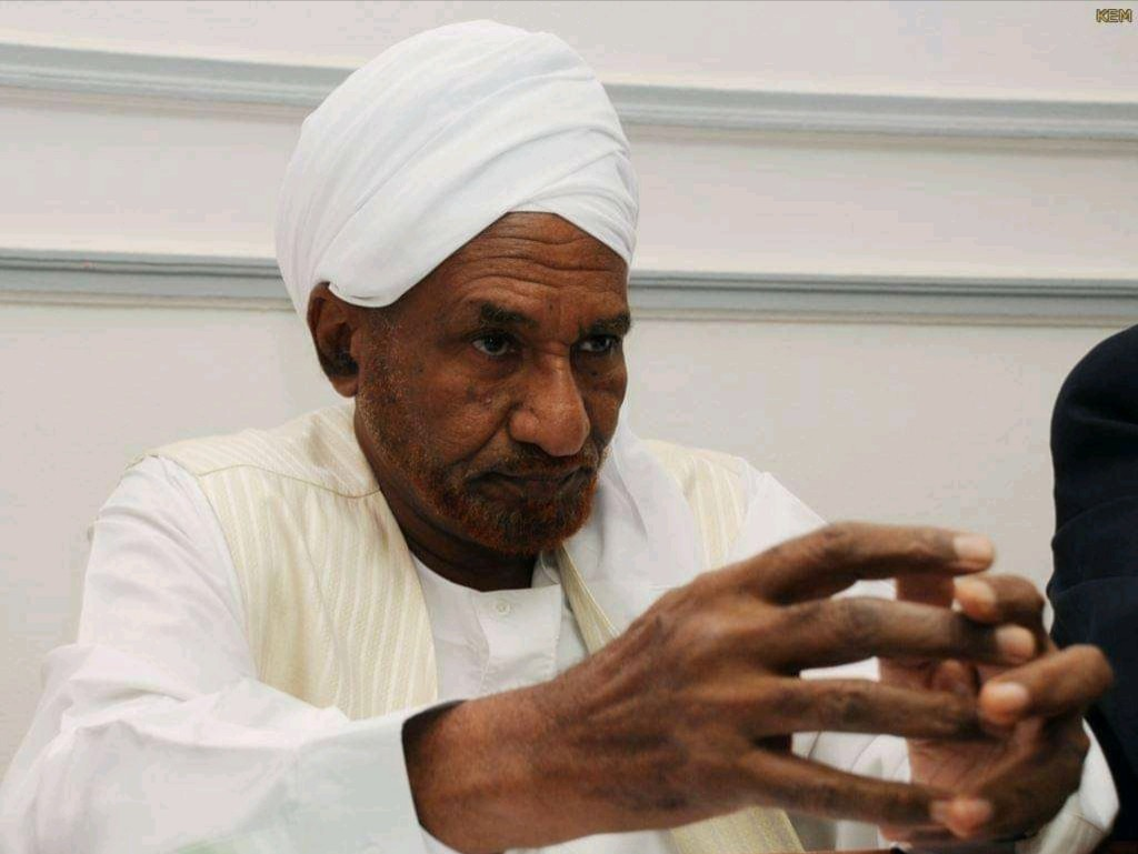 Sudan's key opposition leader Sadiq al-Mahdi steps down